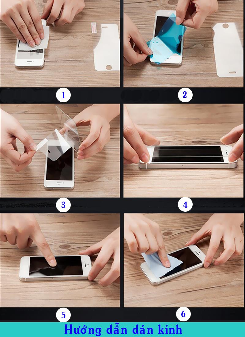 Miếng Dán Kính Cường Lực Cho Iphone 11 - Màu Đen - Full Màn Hình - Hàng Chính Hãng