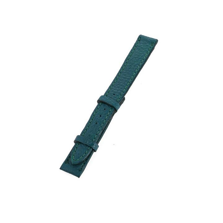 Dây đồng hồ nam nữ Huy Hoàng da bò size nhỏ màu xanh lá-HT8103