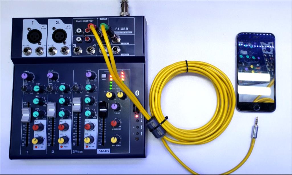 Dây Cáp Live Trực Tiếp Từ Mixer - Ampli - Vang Số - Máy Tính