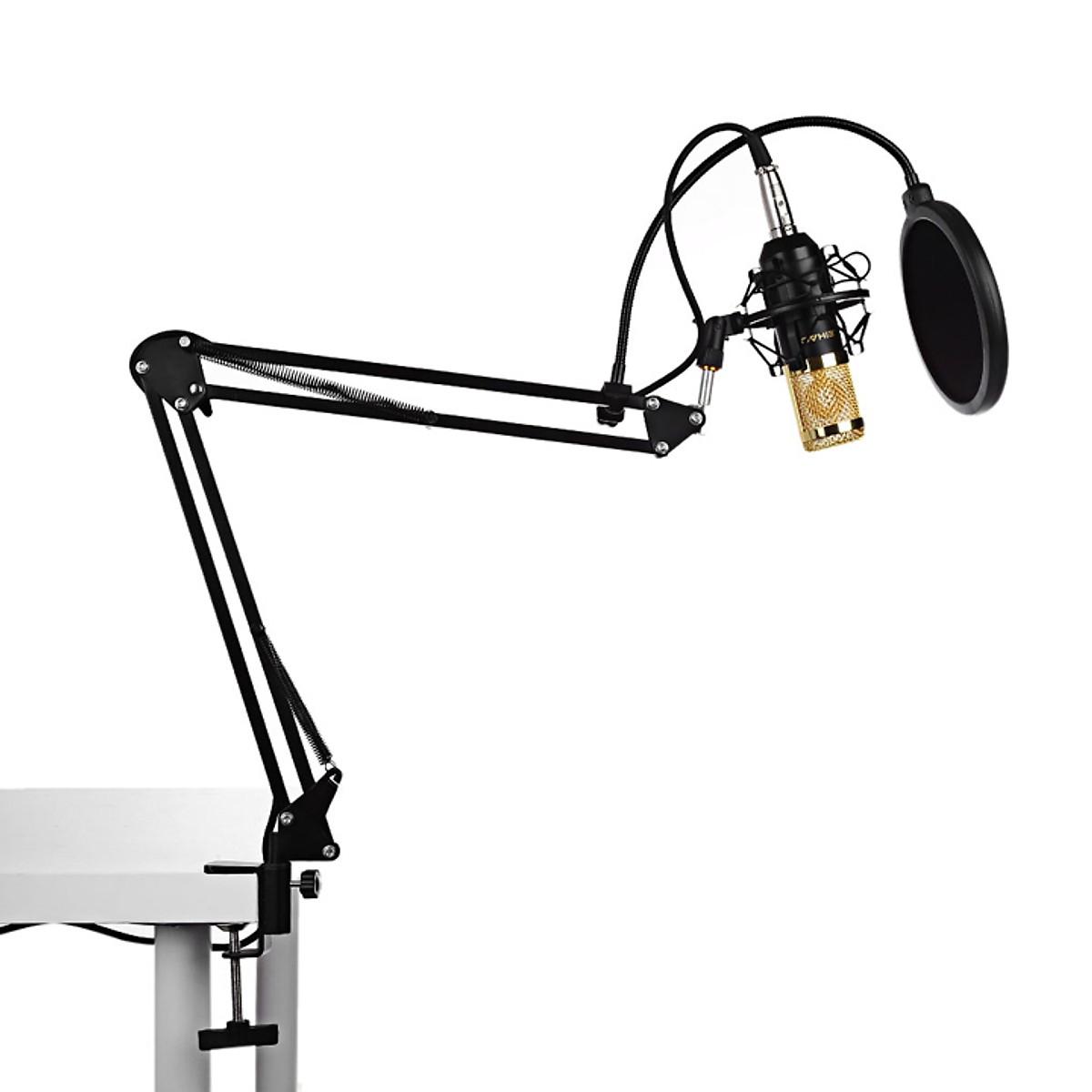 Chân Kẹp Bàn Micro Thu Âm, Livestream KBD