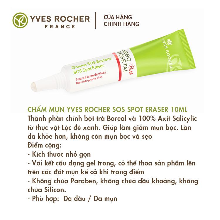 Chấm Mụn Yves Rocher SOS Spot Eraser 10ml