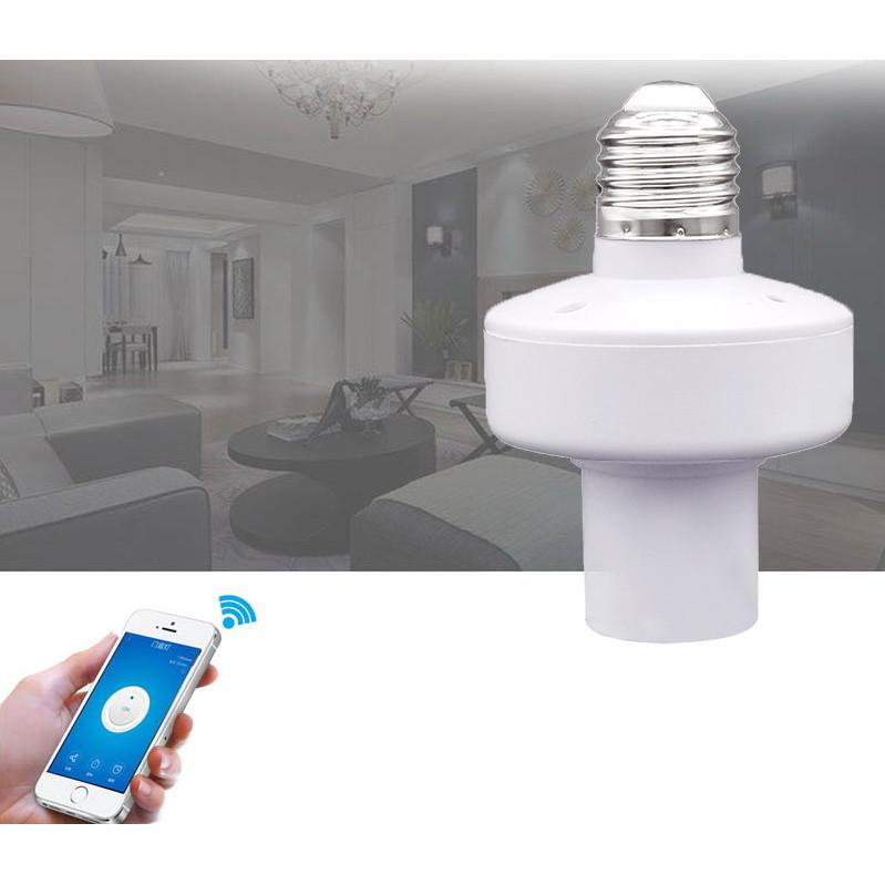 Đui đèn wifi thông minh điều khiển từ xa WL-LC01