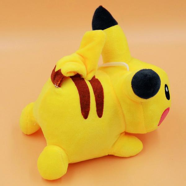 Gấu Bông Pikachu Nằm (25 Cm) Gb59 (Màu Vàng)