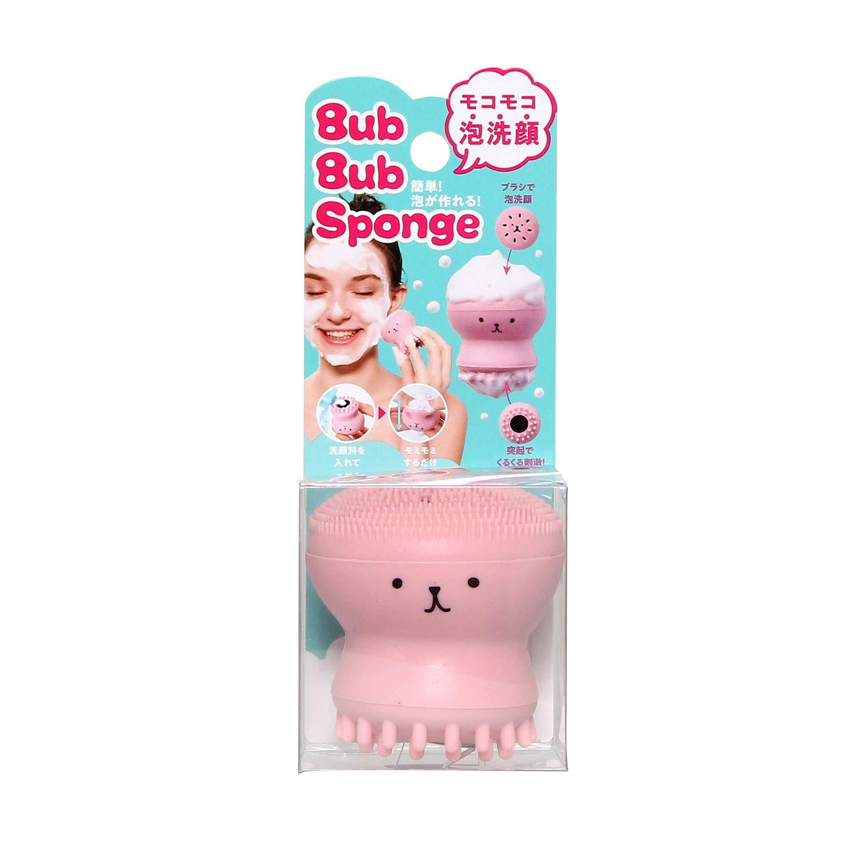 Dụng cụ rửa mặt bạch tuộc Cogit Bub Bub Sponge Pink