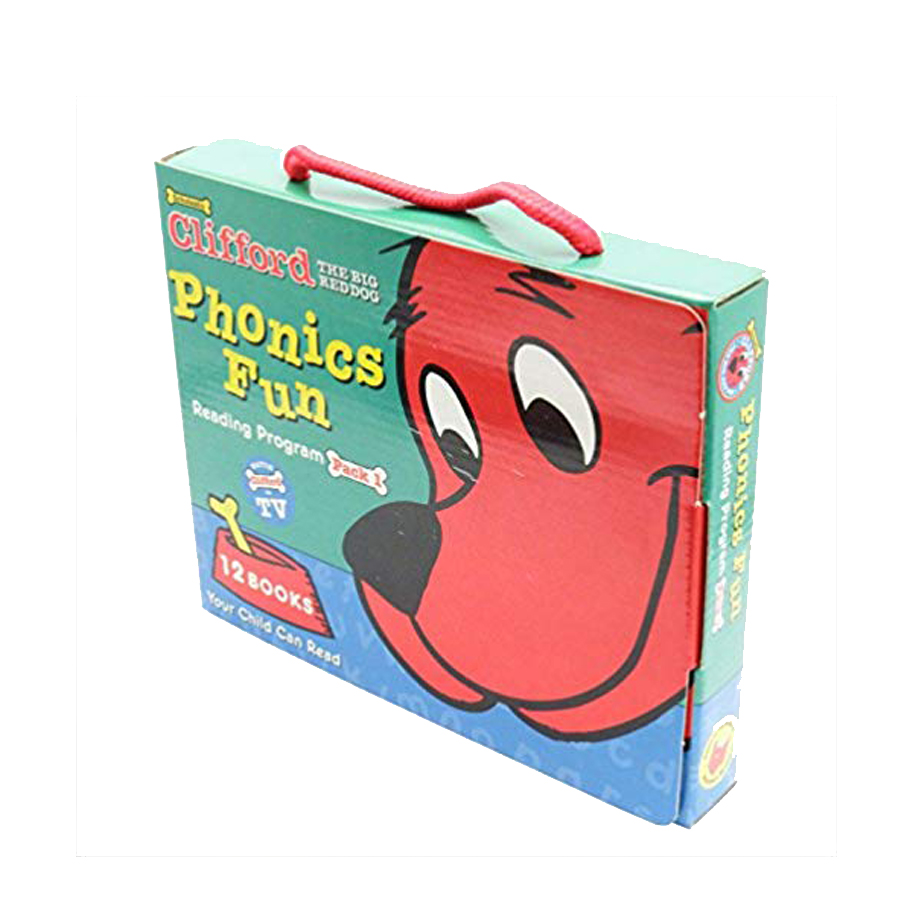 Clifford Phonics Fun Pack 1 (W/ CD)