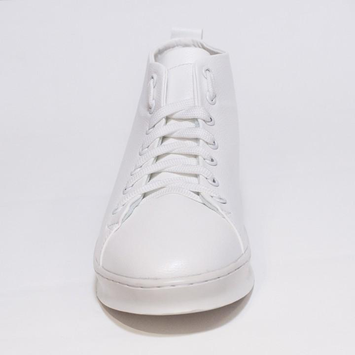 Giày Thể Thao Nam Cổ Lửng Màu Trắng Đế Khâu Chắc Chắn Rất Năng Động - T447-TRANG(L)-TRANG