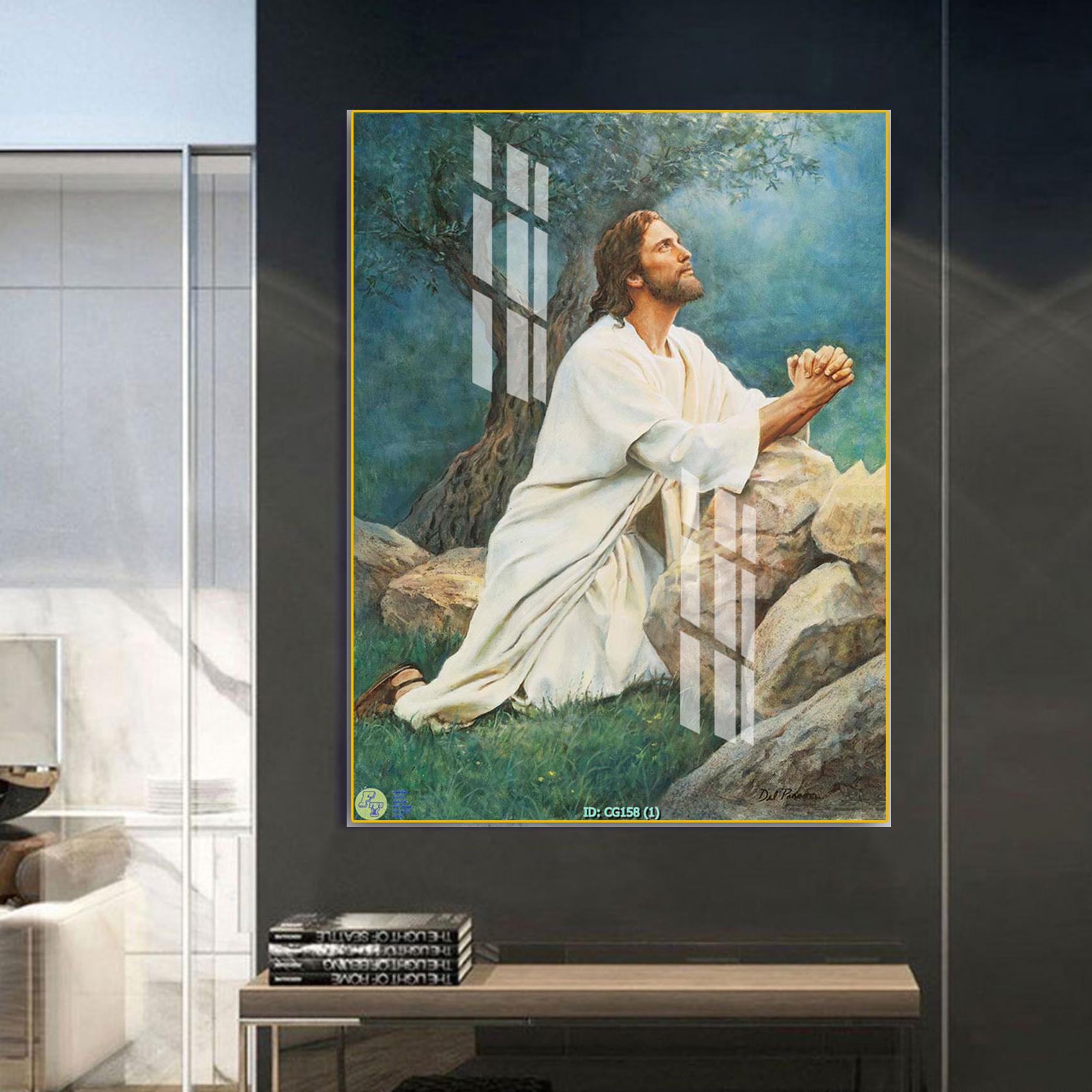 Tranh Canvas Treo Tường Hiện Đại _ Tranh Công Giáo _ CG012