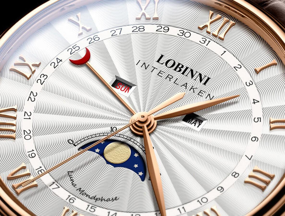 Đồng hồ nam chính hãng LOBINNI L3603-1