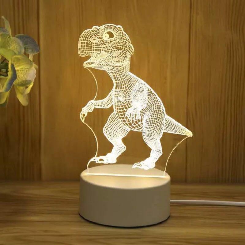 Đèn Ngủ 3D Led Nhiều Mẫu Hình Cực Đẹp 3 màu:Trắng - Vàng Nhạt - Vàng Đậm. A