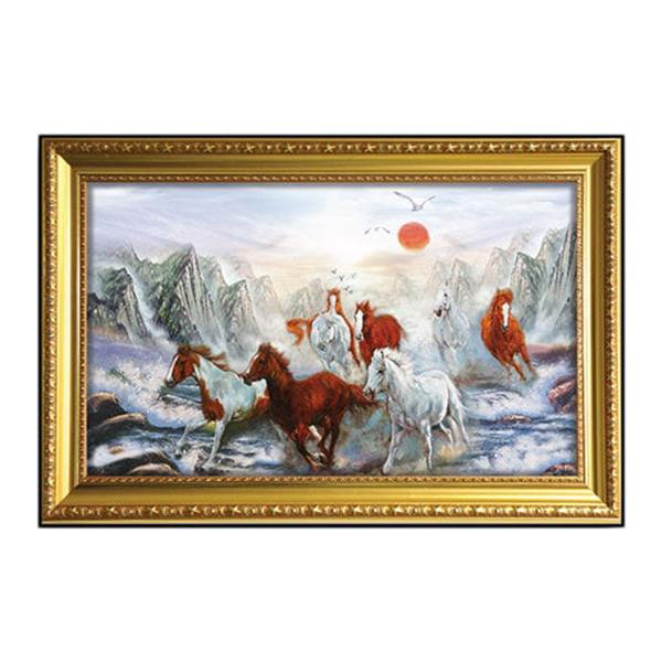 Tranh Mã Đáo Thành Công - Tranh Con Ngựa W642