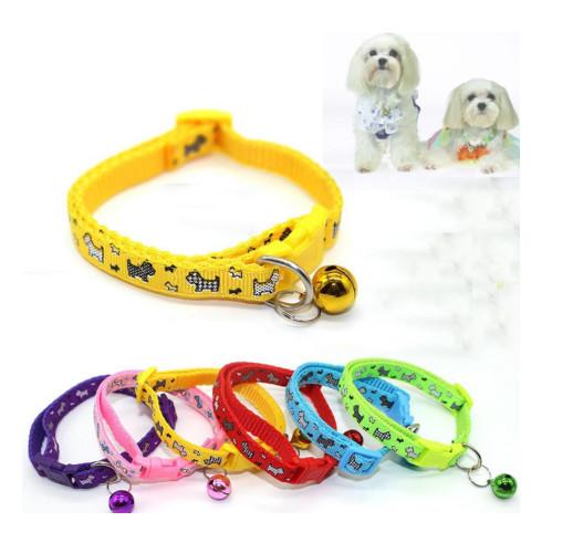 Vòng cổ chó mèo nhiều màu sắc (giao ngẫu nhiên)