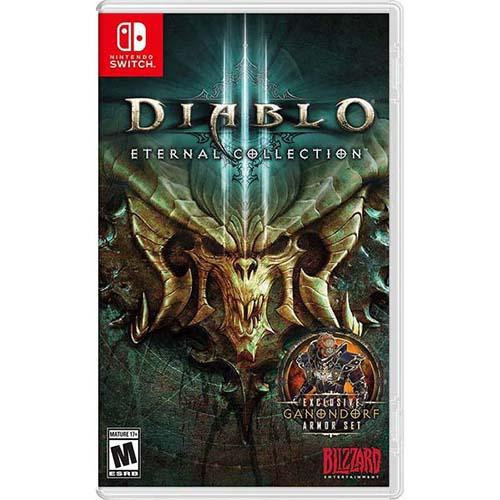 """Đĩa Game Nintendo Switch """" Diablo 3 : Eternol Collection """" Cũ >> Hàng Nhập Khẩu"""