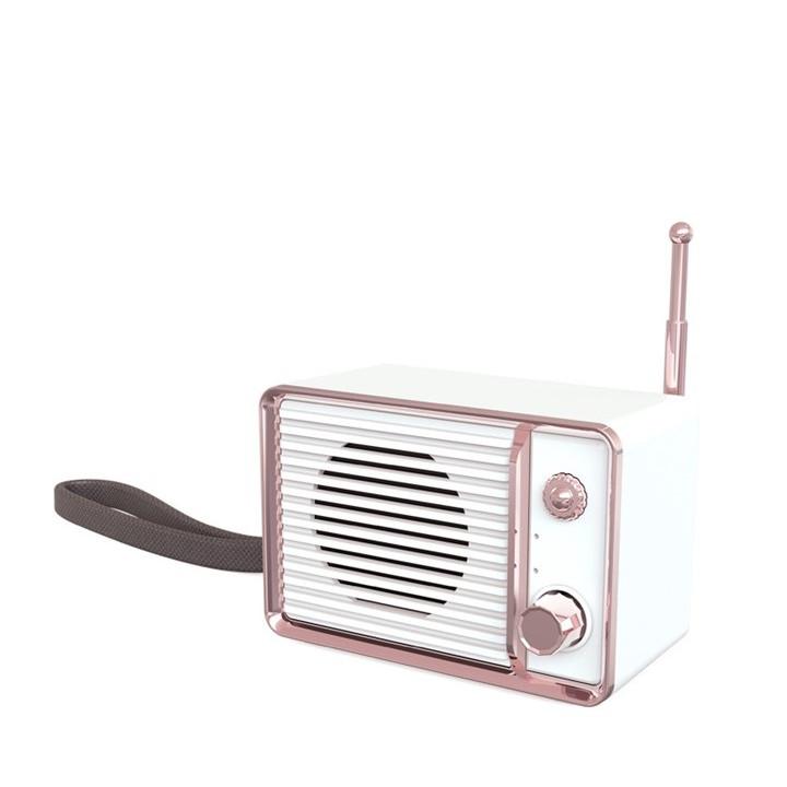 Loa bluetooth DW01 Retro Radio phong cách cổ điển D00-741