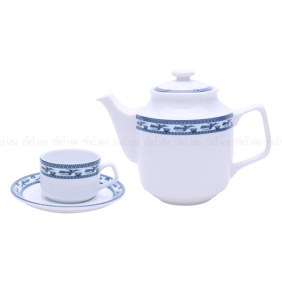 Bộ Trà Jasmine Minh Long 01071138503 (0.7L) - Chim Lạc