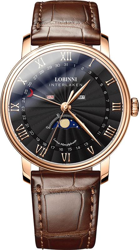 Đồng hồ nam chính hãng Lobinni No.3603-4