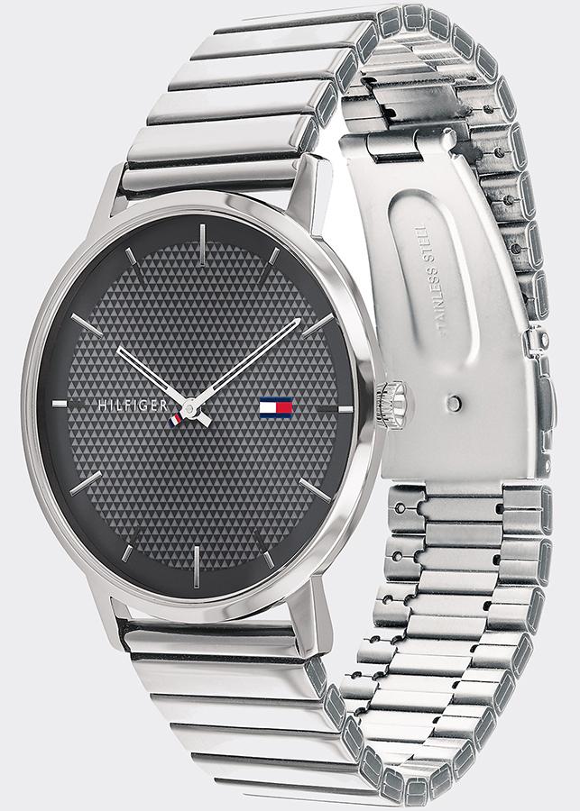 Đồng hồ Tommy 1791654 Nam Máy Pin Dây Kim Loại 41mm