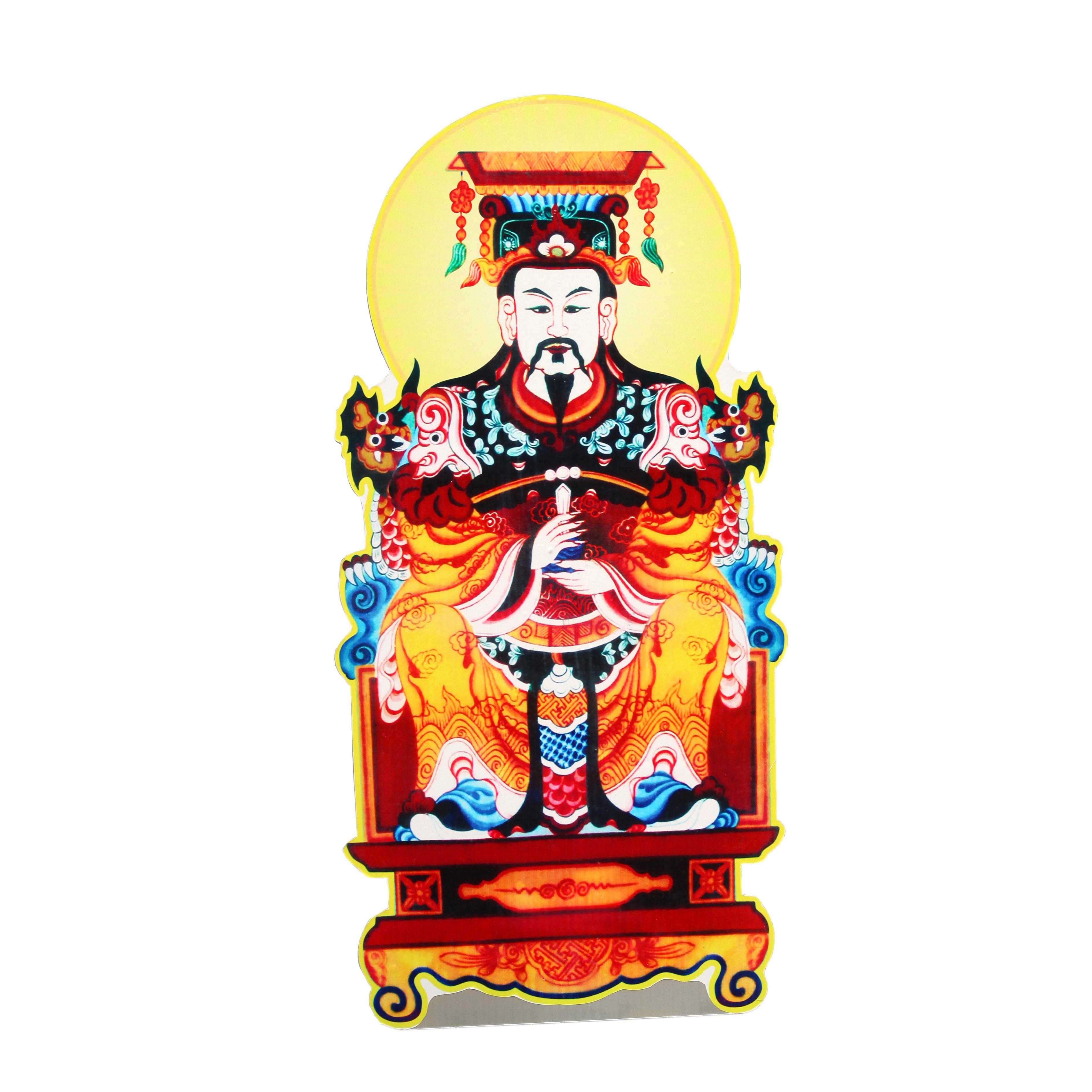 Tranh Ngọc Hoàng - Xốp fomex 60cm