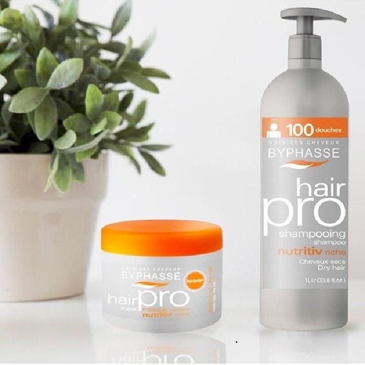Combo dầu gội dành cho tóc khô Byphasse