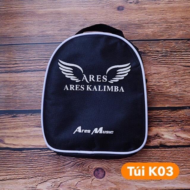Combo Đàn Kalimba ARES A21M 21 Phím, Túi chống sốc K03