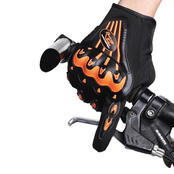 Găng tay xe máy, xe đạp Handler Sportslink - Vàng Cam - L