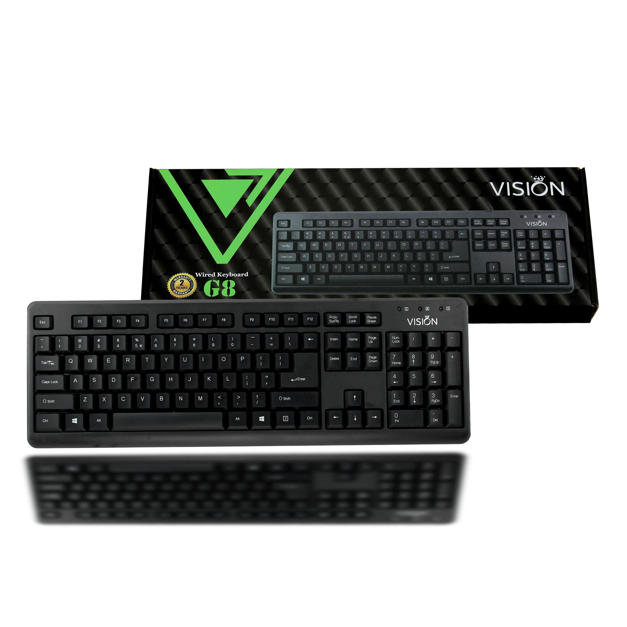 Bàn phím máy tính Vision G8 - Hàng Chính Hãng