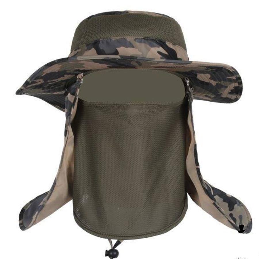 Mũ nón tai bèo chống nắng nam, mũ nón đi câu cá, cắm trại cho Nam – chống tia UV – bảo vệ da đầu