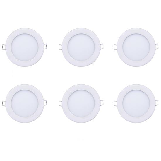 Bộ 6 đèn led downlight âm trần Marcasite 9W 59521 Philips