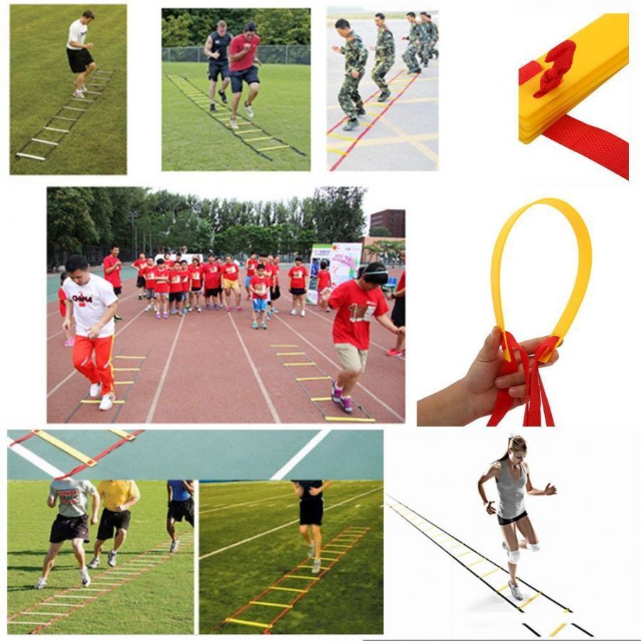 Thang dây thể thao tập luyện thể lực bóng đá POKI (10m)