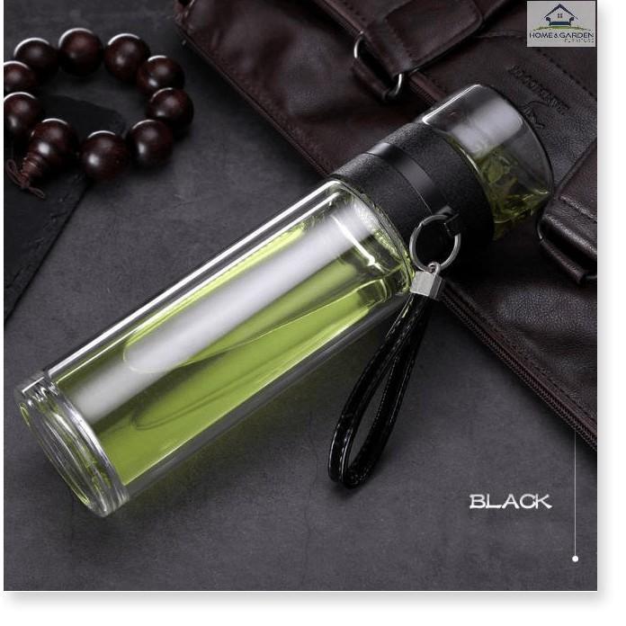 Bình giữ nhiệt 2 lớp thủy tinh cao cấp Luxury Travel Bottles