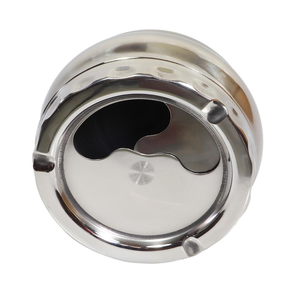 Gạt tàn thuốc inox xoay tròn loại lớn cao cấp GT02