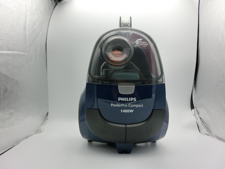 Máy hút bụi gia đình nhãn hiệu Philips cao cấp FC8471/81 công suất 1400W, kiểu dáng hiện đại tích hợp đầu hút sàn và đầu hút khe - Hàng Nhập Khẩu