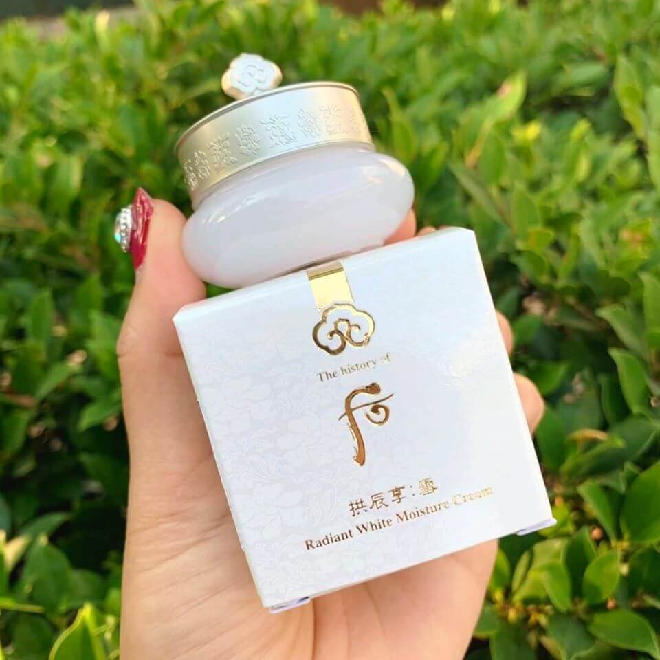 Kem Dưỡng Trắng Da Whoo GJH Seol W&M Cream 10ml Sample