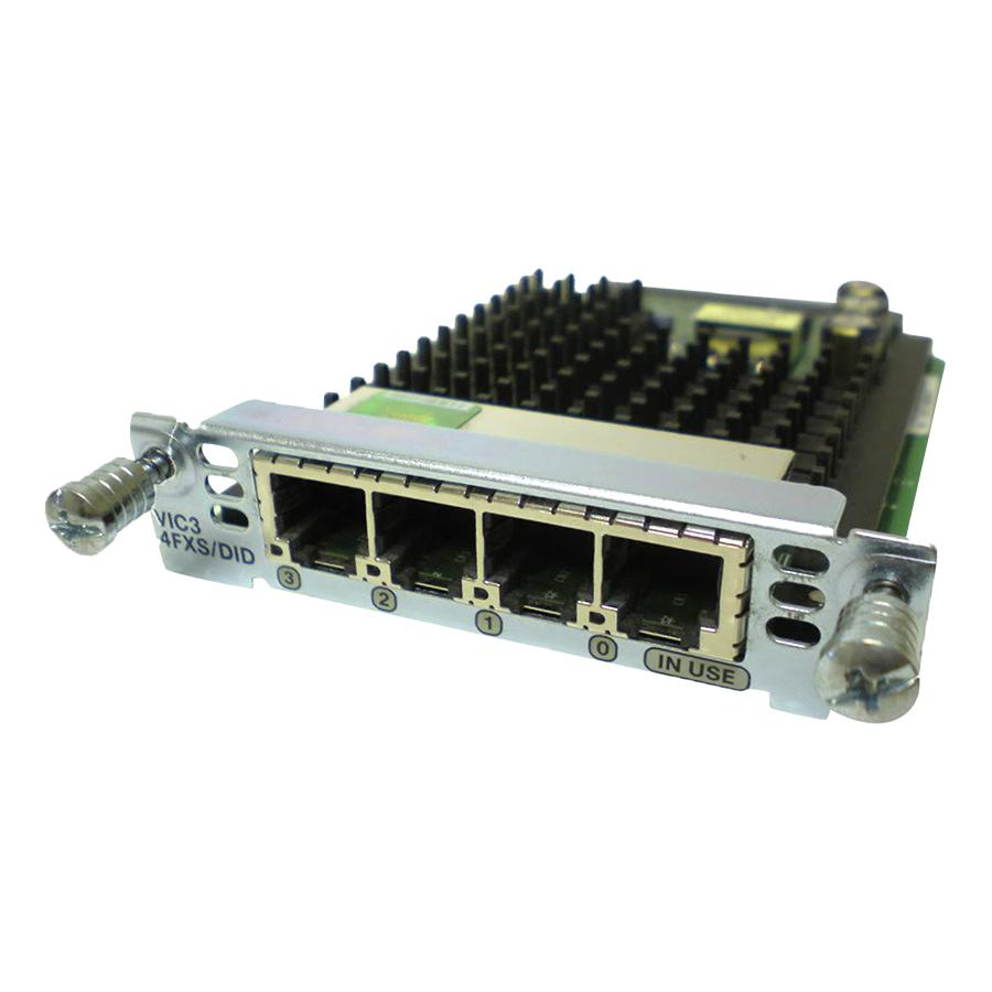 Card Void-ip Cisco VIC3-4FXS/DID - Hàng Nhập Khẩu