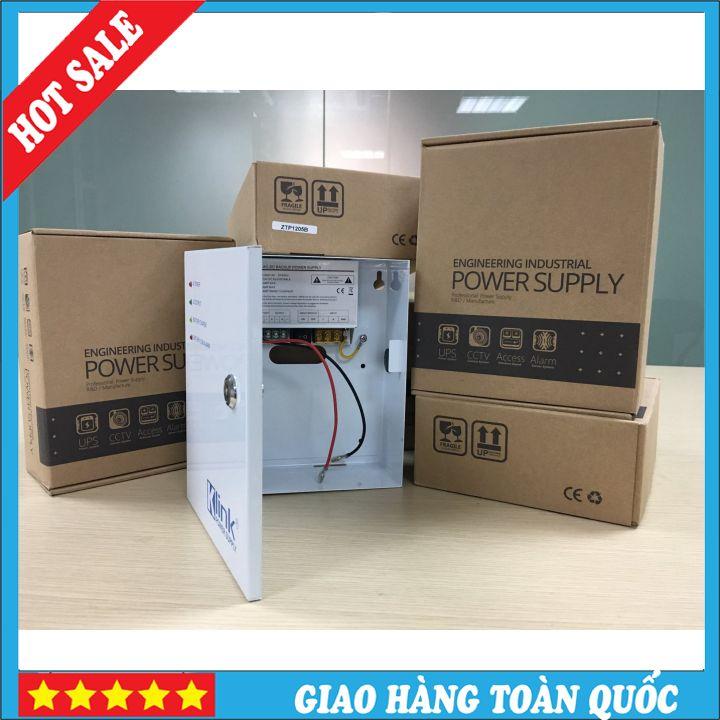 Bộ chuyển nguồn và cấp nguồn dự phòng tự động cho đầu ghi camera giám sát 1 cổng ra UPS-hàng chính hãng