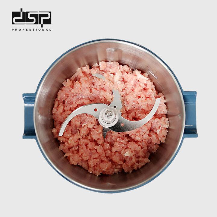 Máy xay thịt, rau củ quả nhãn hiệu DSP KM4045 Dung tích: 2L - Công suất: 350W Chất liệu cối xay:  Thép không gỉ, nhựa ABS - HÀNG CHÍNH HÃNG