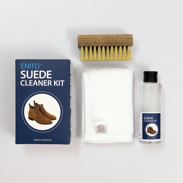 Bộ Vệ Sinh Giày Da Lộn Enito Suede Clean Kit 2021 - Dung tích 120ml - Chuyên Vệ Sinh Các Loại Giày Da Lộn, Da nurbuck
