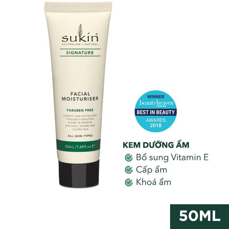 Bộ Đôi Sữa Rửa Mặt Dạng Gel Sensitive Cleansing Gel 125ml & Kem Dưỡng Ẩm Signature Facial Moisturiser 50ml