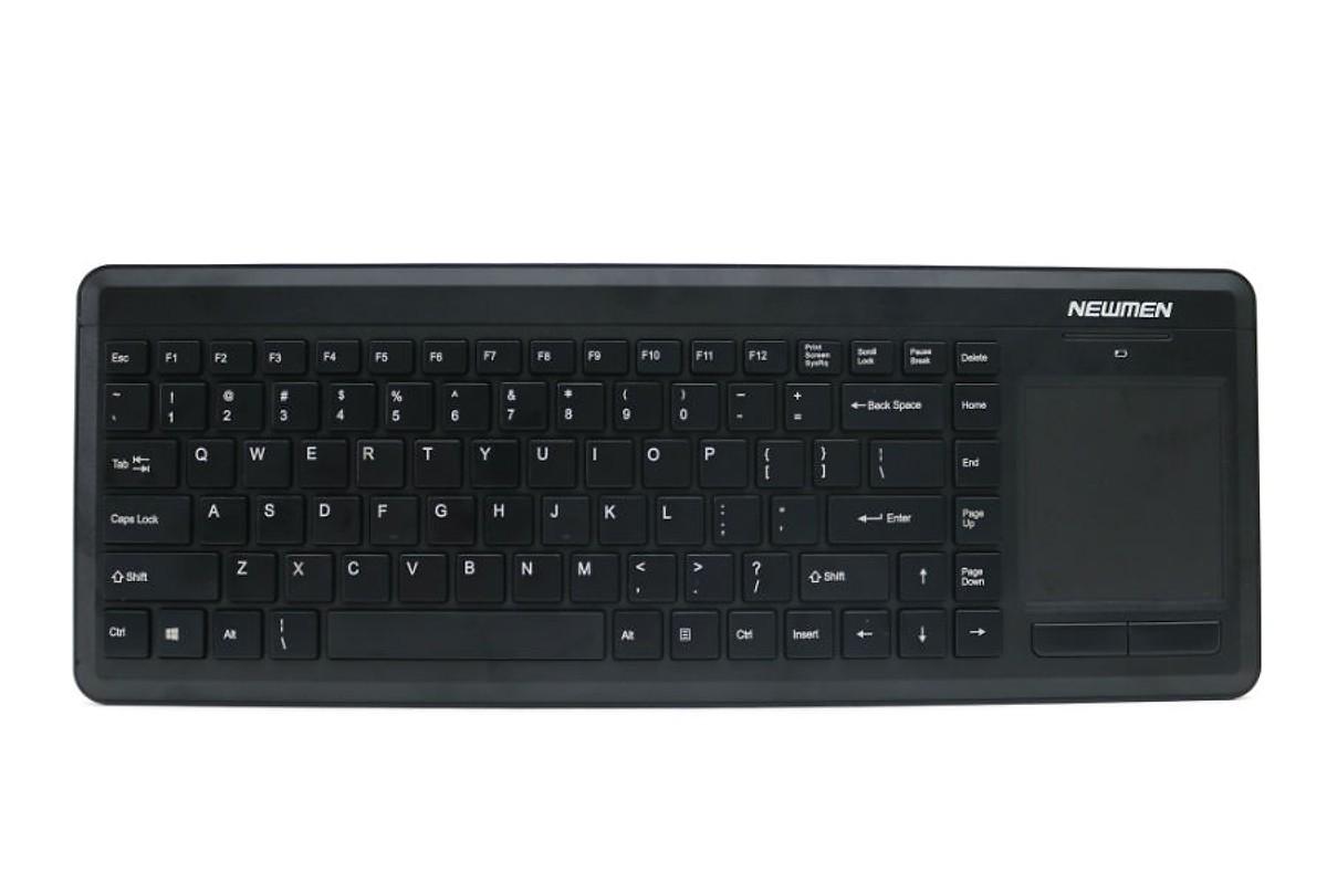 Bàn phím máy tính không dây kết hợp chuột cảm ứng Newmen K640TP- Hàng Chính Hãng