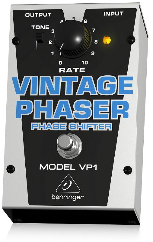 BEHRINGER VP1 - Authentic Vintage-Style Phase Shifter - PEDAL - Hàng chính hãng