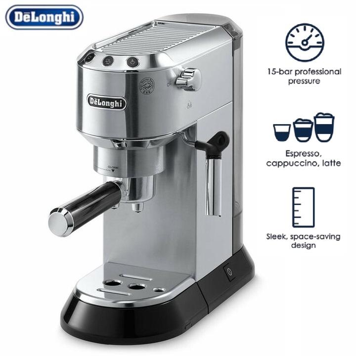 Máy pha cà phê chuyên dụng, thương hiệu cao cấp Delonghi EC685.M - Công suất: 1300W - Dung tích: 1.1L - Trọng lượng: 4.2 kg - Hàng Nhập Khẩu