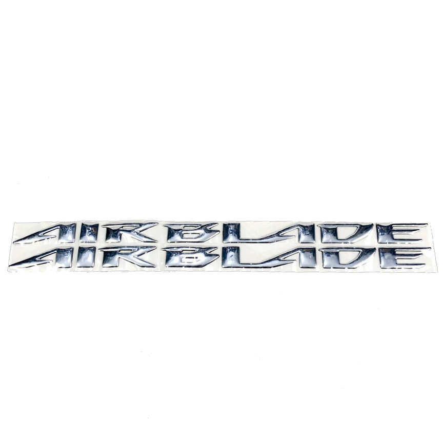 Tem chữ nổi xe Air Blade mạ xi niken Green Networks Group