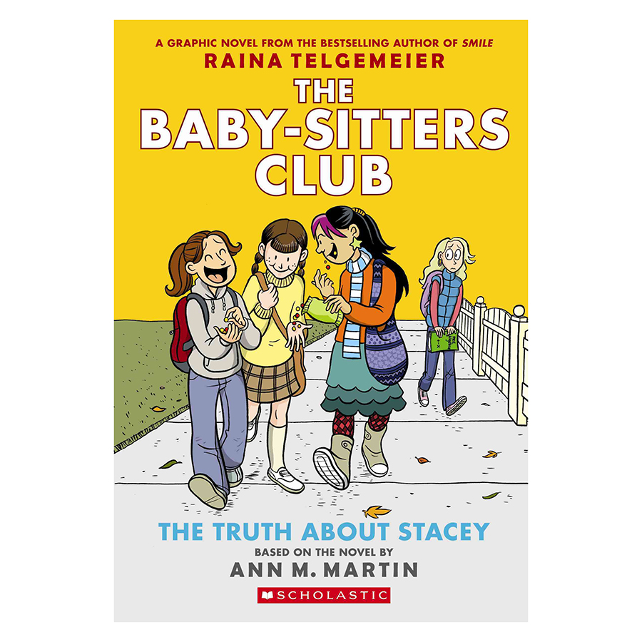 The Baby - Sitters Club Graphix Book 2 : The Truth About Stacey (Graphic Novel)