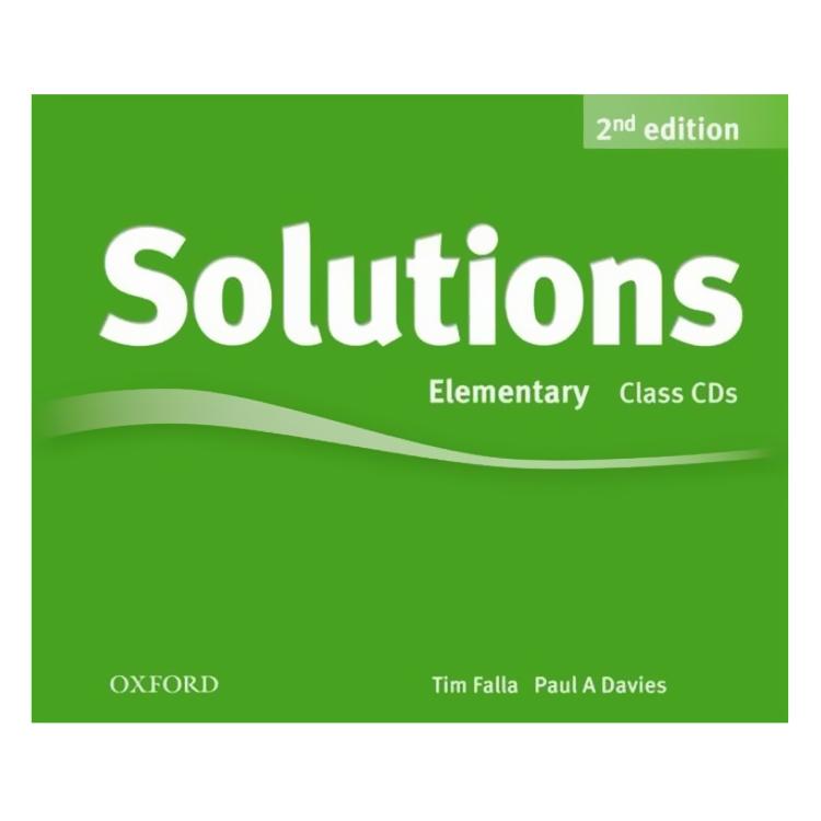 Solutions (2E) Elementary Class Audio CDs (3 Discs)