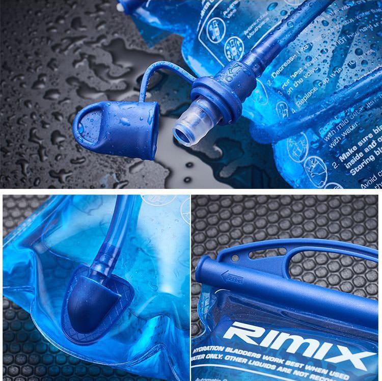 Bình nước chạy bộ, dã ngoại, đạp xe Rimix 3302 (2 Lít)