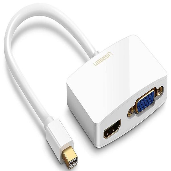 Cáp Mini DisplayPort to VGA + HDMI Ugreen 1042 - Hàng chính hãng