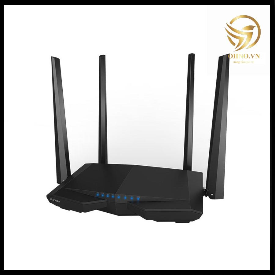 Bộ Thiết Bị Phát Wifi Tenda AC6 Cục Phát Sóng Wifi 4 Râu Siêu Phủ Sóng Siêu Tốc Độ -hàng chính hãng