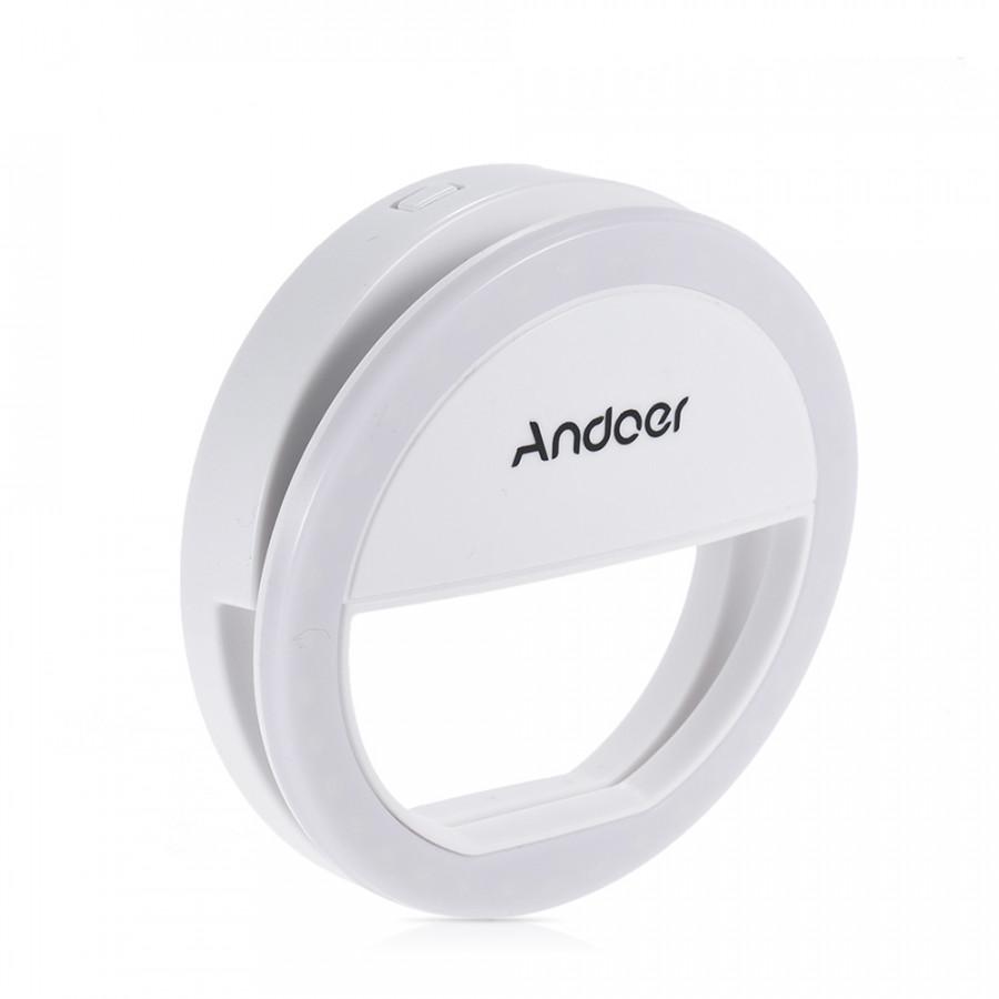 Andoer Xj-01 Portable Clip-On Mini 36 LED Selfie Ring Lamp Fill-In Light Night Using Supplementary Lighting For Iphone - White Andoer XJ-01 - 23419599 , 8892494364612 , 62_15536945 , 231000 , Andoer-Xj-01-Portable-Clip-On-Mini-36-LED-Selfie-Ring-Lamp-Fill-In-Light-Night-Using-Supplementary-Lighting-For-Iphone-White-Andoer-XJ-01-62_15536945 , tiki.vn , Andoer Xj-01 Portable Clip-On Mini 36
