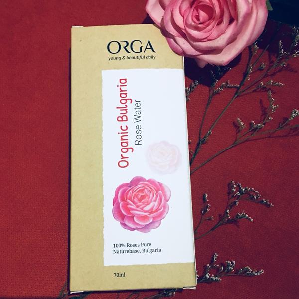 Nước hoa hồng dưỡng trắng da ROSE WATER ORGANIC BULGARIA 70ML- Giúp cân bằng pH, loại bỏ dầu nhờn và bụi bẩn tích tụ.  Làm thông thoáng se khít lỗ chân lông.