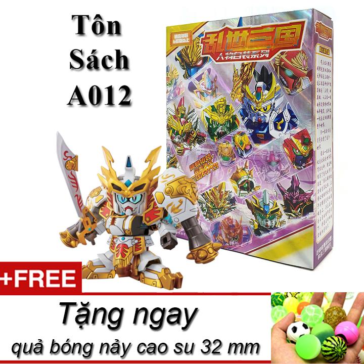 Mô hình trang trí để bàn sd A012 Tôn Sách bản mới Tam Quốc 2020 full box tặng kèm quả bóng nảy cao su làm đồ chơi thú vị