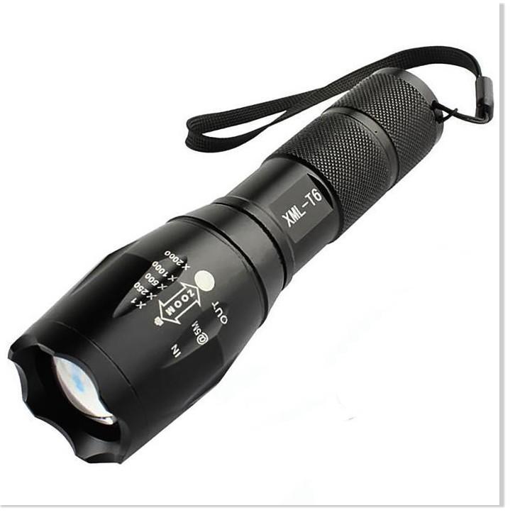 Đèn pin siêu sáng Đèn PIN XML_T6 siêu sáng pịn trâu